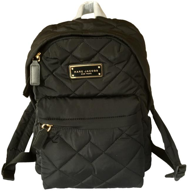 Item - Crosby Quilted Black Nylon Backpack