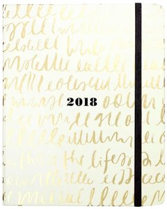 """Kate Spade """"This Is The Life"""" 17-Month Large Agenda"""