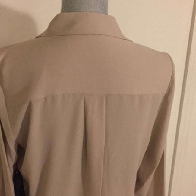 Vince Camuto Snaps Studded Studs Button Down Longsleeve Top Oyster Image 3