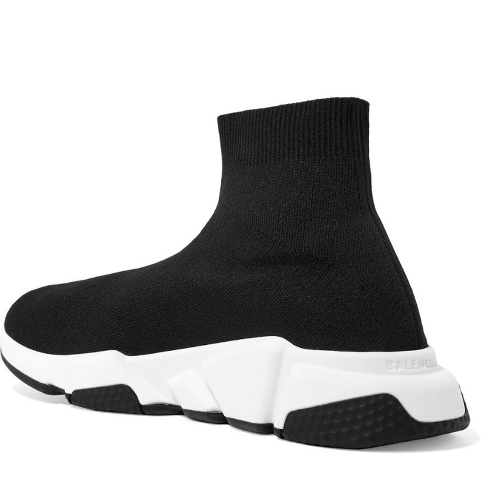 8c2fc5c6c374 Balenciaga Speed Trainer Stretch Knit High Top Sock Sneakers Sneakers Size  US 11 Regular (M