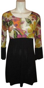 Sweet Pea by Stacy Frati 3/4sleeve Casual Night Out Dress