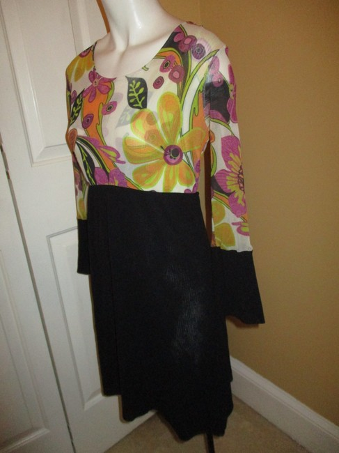 Sweet Pea by Stacy Frati 3/4sleeve Casual Night Out Dress Image 2