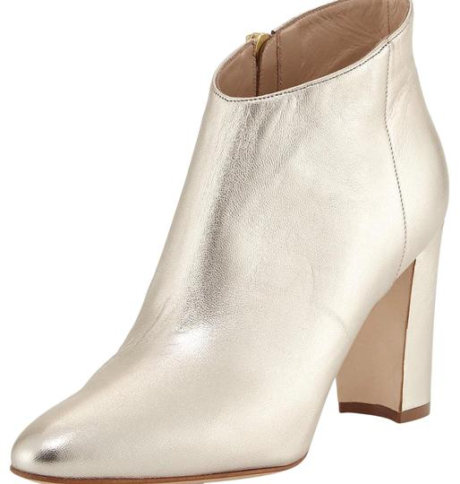 Manolo Blahnik gold Boots Image 1