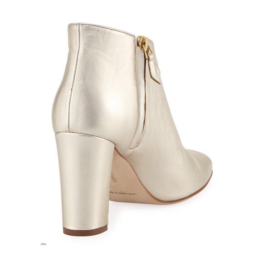Manolo Blahnik gold Boots Image 3