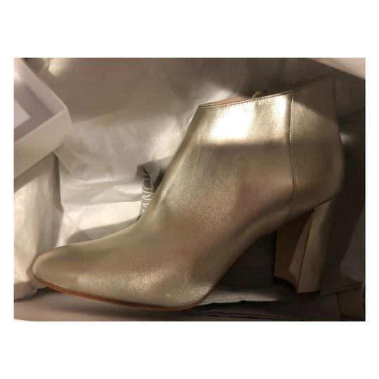 Manolo Blahnik gold Boots Image 5