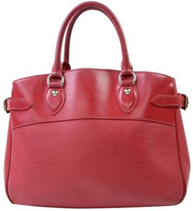 Louis Vuitton Neverfull Bowler Montaigne Speedy Satchel in Red