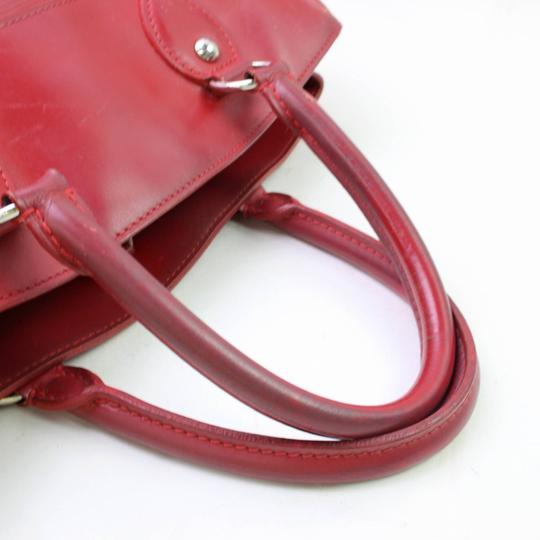 Louis Vuitton Neverfull Bowler Montaigne Speedy Satchel in Red Image 1