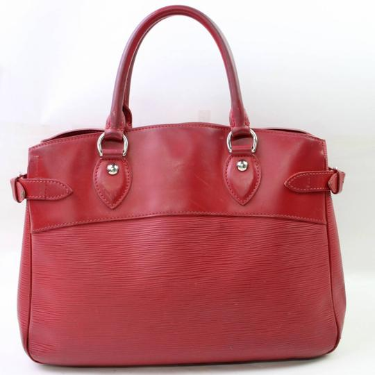 Louis Vuitton Neverfull Bowler Montaigne Speedy Satchel in Red Image 6