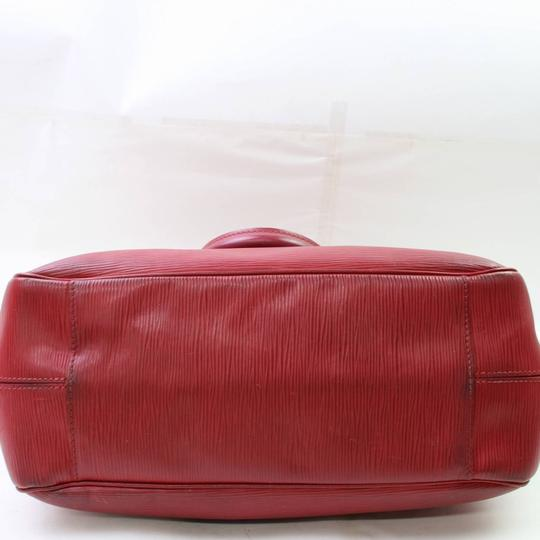 Louis Vuitton Neverfull Bowler Montaigne Speedy Satchel in Red Image 8