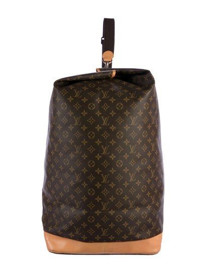 Louis Vuitton Carryall Steam Bandouliere Extra Large Duffle Wristlet in Brown Image 1