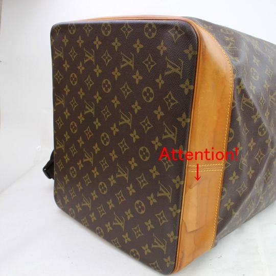 Louis Vuitton Carryall Steam Bandouliere Extra Large Duffle Wristlet in Brown Image 11