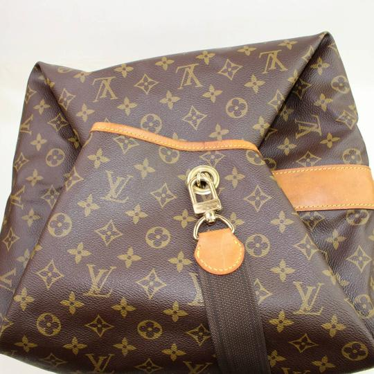 Louis Vuitton Carryall Steam Bandouliere Extra Large Duffle Wristlet in Brown Image 5