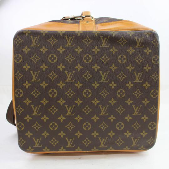 Louis Vuitton Carryall Steam Bandouliere Extra Large Duffle Wristlet in Brown Image 7