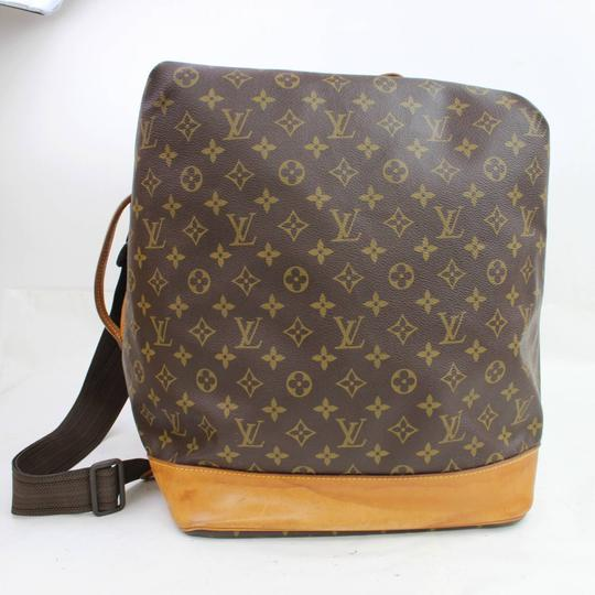 Louis Vuitton Carryall Steam Bandouliere Extra Large Duffle Wristlet in Brown Image 8