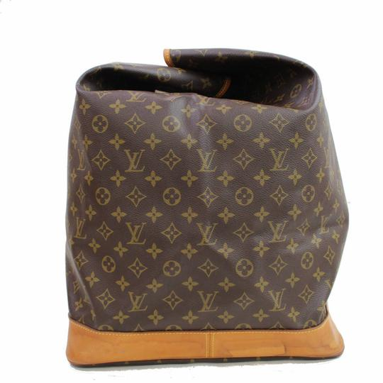 Louis Vuitton Carryall Steam Bandouliere Extra Large Duffle Wristlet in Brown Image 9