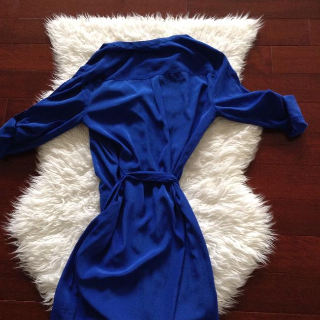 Express short dress Royal blue on Tradesy Image 3