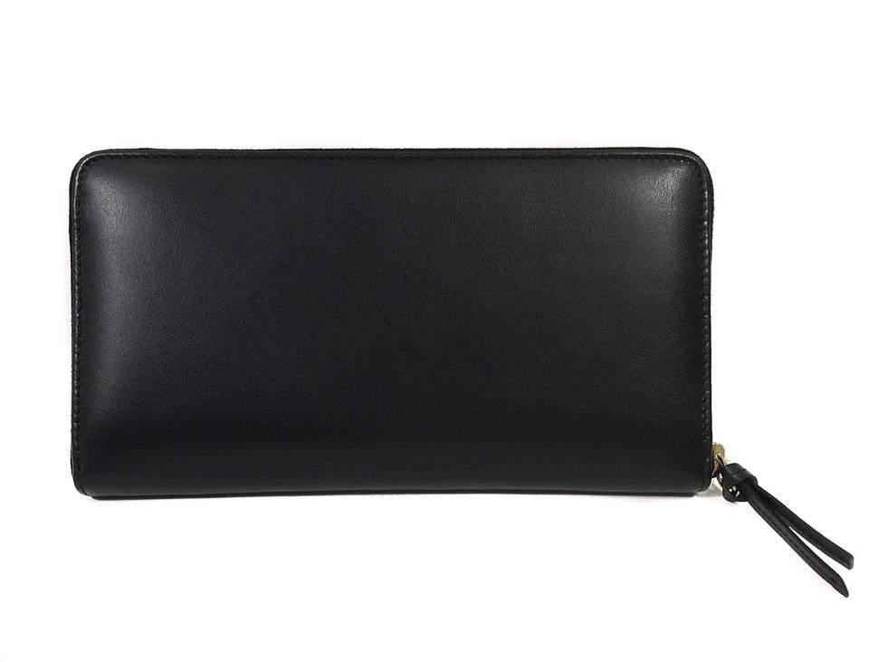 586936a3f9fd0a Gucci Black 453396 Apollo Embossed Gg Zip Around Leather Wallet - Tradesy
