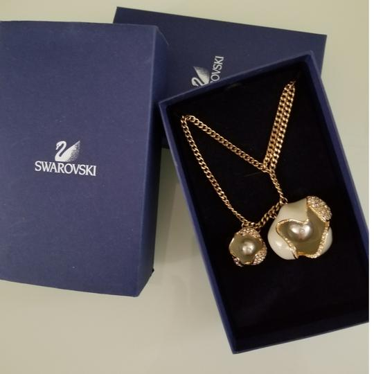 Swarovski LIMELIGHT GOLD NECKLACE, New With Tags Image 1