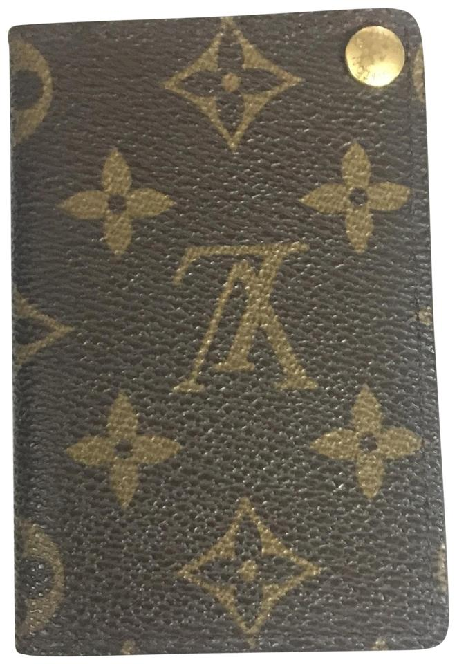 248fd2a981bc Louis Vuitton Monogram Card Holder Wallet - Tradesy