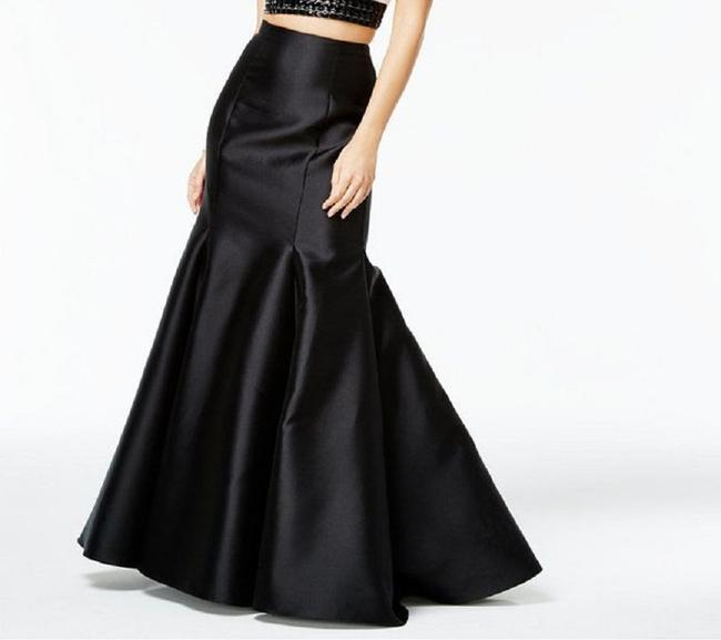 Say Yes to the Prom Maxi Skirt Black Image 1
