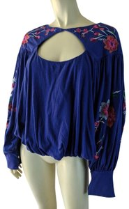 Free People New Boho Floral Sweater
