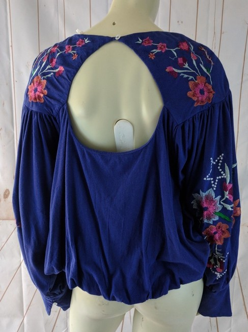 Free People New Boho Floral Sweater Image 2
