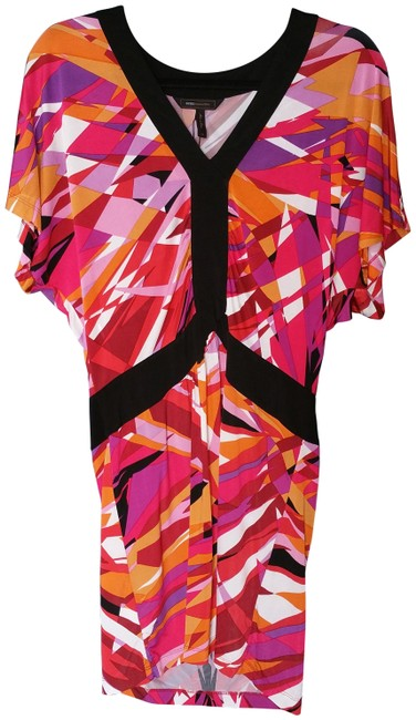 Preload https://item4.tradesy.com/images/bcbgmaxazria-multicolor-knee-length-night-out-dress-size-2-xs-2330293-0-1.jpg?width=400&height=650