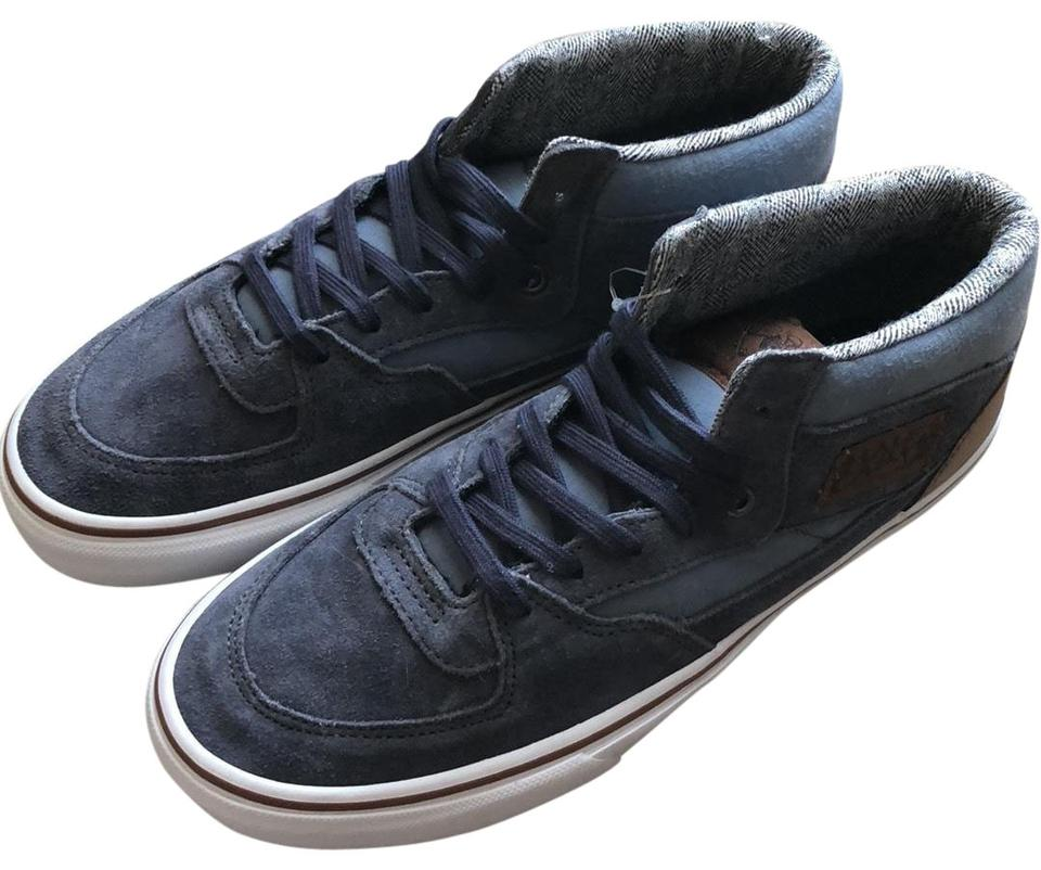 4d78af0cee0908 Blue Half Cab Suede Trainers Sneakers Size US 9 Regular (M