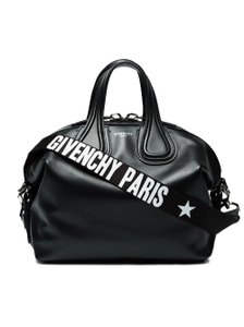 Givenchy Leather Nightingale Nightingale Satchel in Black