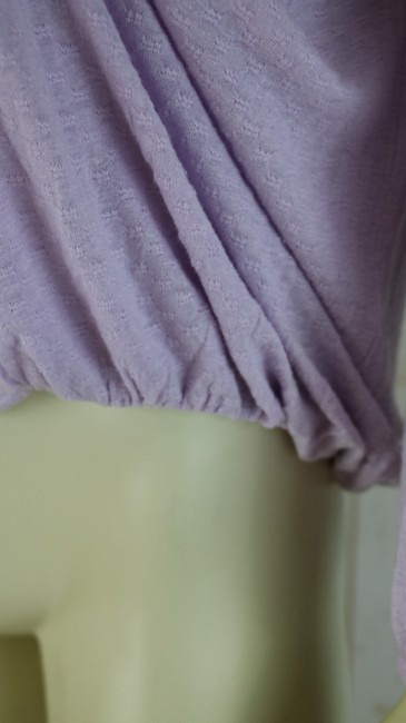 Free People New Boho Embroidery Pullover Top Lilac Image 3