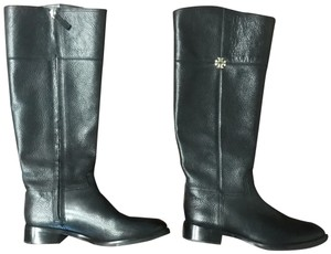 Tory Burch Wide Calf Leather black Boots