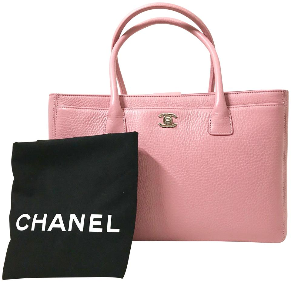 5c21afd507c Chanel Bag Cerf New Pink Leather Tote - Tradesy
