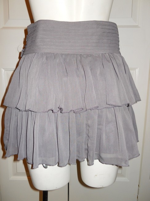 Arden B. Mini Skirt grey