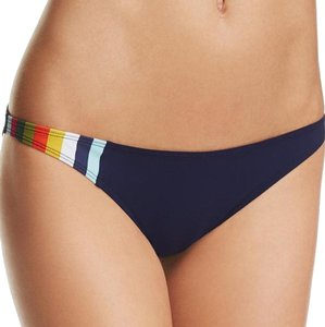 Tory Burch Tory Burch Colorblock Swim Bikini Bottom, Navy, M