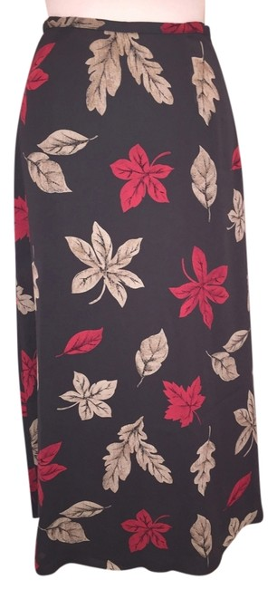 Preload https://img-static.tradesy.com/item/2330341/chaus-olive-floral-flowy-mousseline-maxi-skirt-size-4-s-27-0-0-650-650.jpg