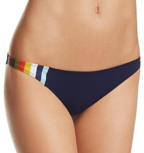 Tory Burch Tory Burch Colorblock Swim Bikini Bottom, Navy, S