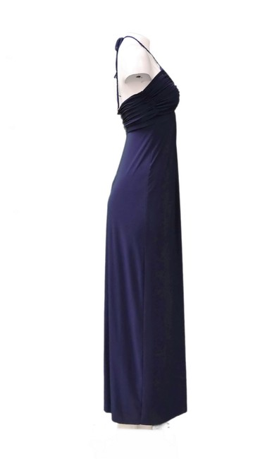 Navy Maxi Dress by MISA Los Angeles Image 2