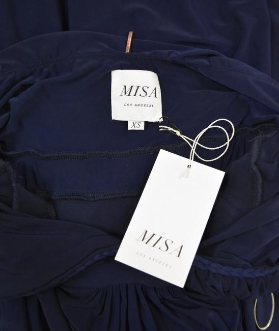 Navy Maxi Dress by MISA Los Angeles Image 3