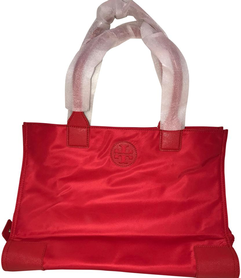 8d46715d6fc Tory Burch Ella Packable Red Nylon Tote - Tradesy