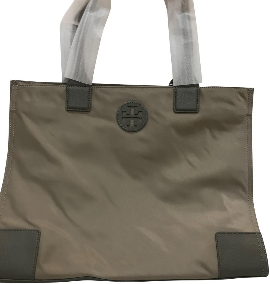aed96fd69a35 Tory Burch Ella Packable French Gray Nylon Tote - Tradesy