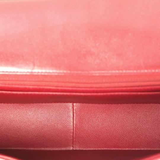 Chanel Leather Satchel in red Image 5