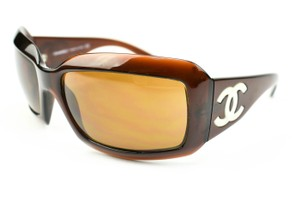 "Chanel & Mother-of-Pearl ""CC"" Logo, Polarized Sunglasses (m)"