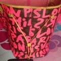 Louis Vuitton Sold Out Limited Edition Celebrity Rare Tote in Neon Pink Monogram Collectors Image 7