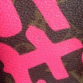 Louis Vuitton Sold Out Limited Edition Celebrity Rare Tote in Neon Pink Monogram Collectors Image 8