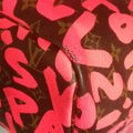 Louis Vuitton Sold Out Limited Edition Celebrity Rare Tote in Neon Pink Monogram Collectors Image 9