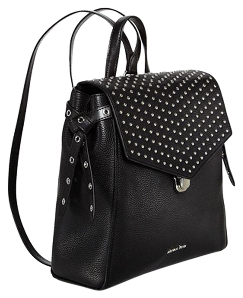 45bd57198e55 MICHAEL Michael Kors Bristol Medium Studded Travel Black Leather ...