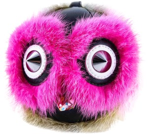 Fendi FENDI Rabbit Fur Coolibri Monster Bag Bug Charm