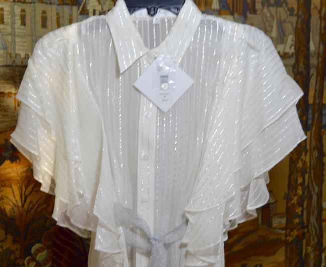 Badgley Mischka short dress White Beach Cover New With Tags Pool Side on Tradesy Image 2