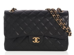 Chanel Jumbo Quilted Gold Hardware Ch.p0327.11 Double Flap Shoulder Bag