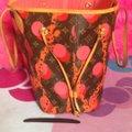 Louis Vuitton Collectors Sold Out Limited Edition Celebrity Rare Tote in Red Coral Pink Monogram Image 5